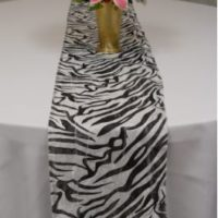 Black & White Zebra Print