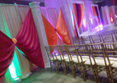 Custom drape design