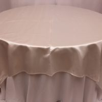 Bridal Satin 90x90 SQ Tablecloths