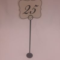 black-stainless-steel-table-number-holder