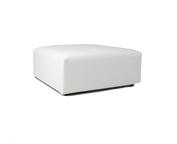 Amazing White Square Ottoman Pabps2019 Chair Design Images Pabps2019Com