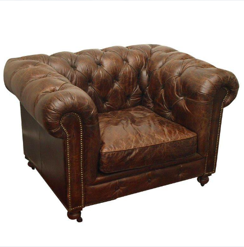 Chesterfield Leather Armchair All Seasons Party Linen Rental
